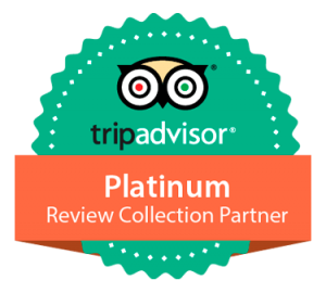 Logo parceiro platinum review collector - tripadvisor