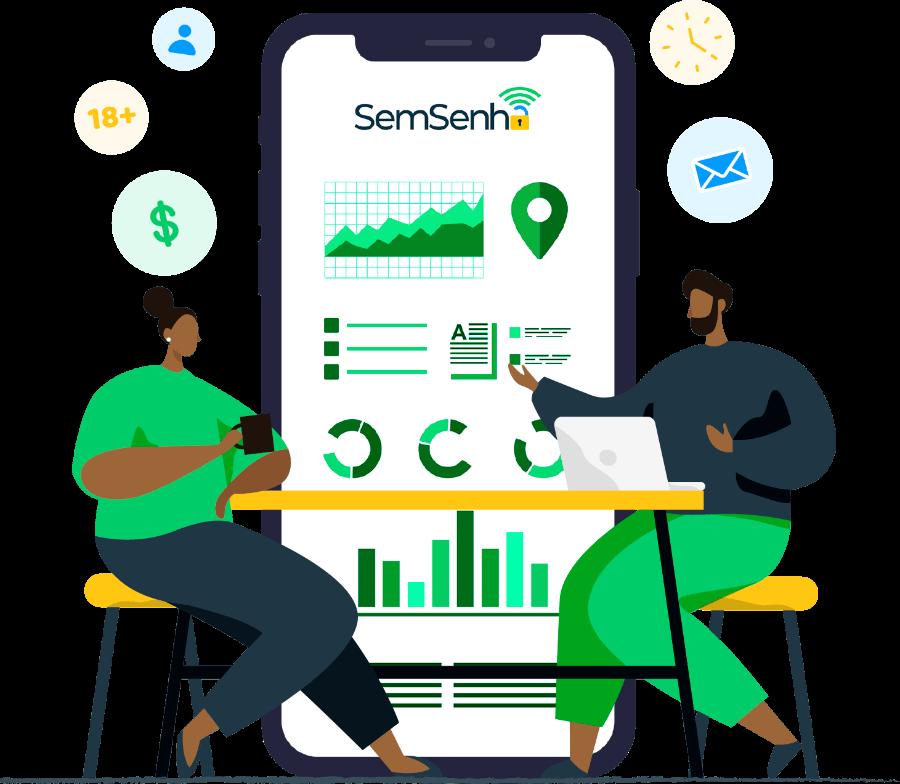 SemSenha - trançando o perfil dos consumidores para ajudar a fidelizar clientes, fazer marketing e ainda vender mais