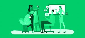 salao de beleza com wi-fi gratis ajudando nas vendas